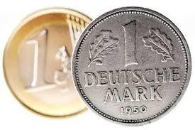 deutche mark vs euro