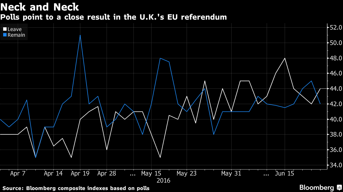 bloomberg brexit poll