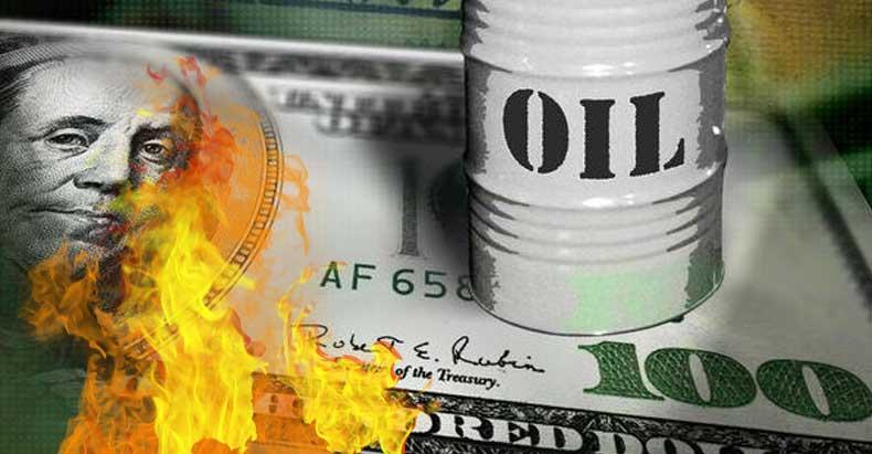 dollar-oil-collage