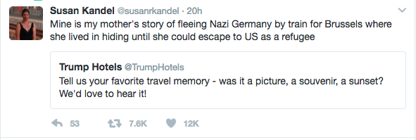 TRUMP HOTELS TRAVEL MEMORY