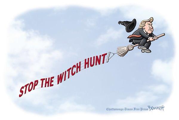TRUMP WITCHHUNT COMIC