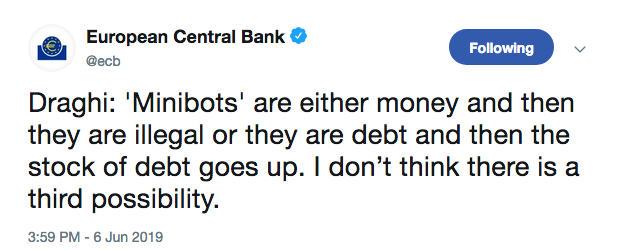 ECB MINIBOTS